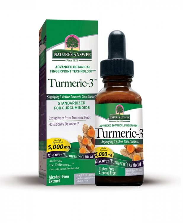 KURKUMA-3, 30 ml Nature´s Answer