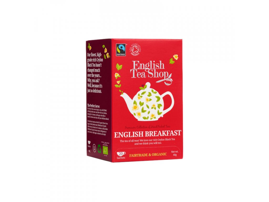 ETS čaj English Breakfast 20 sáčků BIO