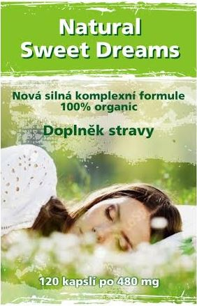 Natural Sweet Dreams 120 kaps. Naturgreen