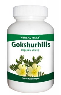 Gokshurhills, 60 kapslí Herbal Hills