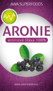 AWA superfoods arónie 100% šťáva 3000 ml