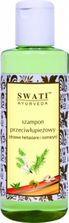 Swati Šampon tea tree a rozmarýn, 210 ml