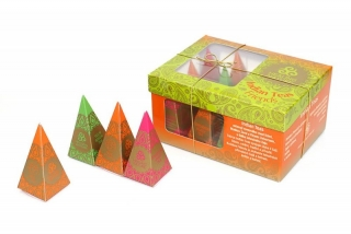 Indian Teas Friends, 12 pyramidek Healing Nature