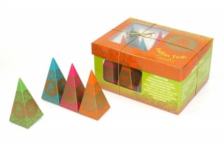 Indian Teas Family, 12 pyramidek Healing Nature
