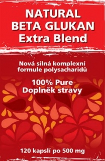 Naturgreen Natural Beta Glukan Extra Blend 120 ks