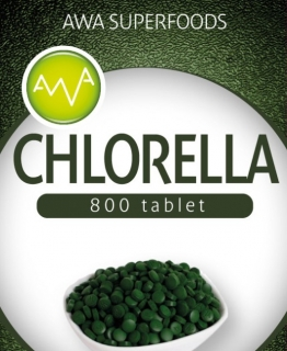 Chlorella tablety 200g AWA Superfoods
