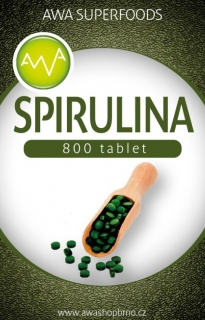 Spirulina tablety 200g AWA Superfoods