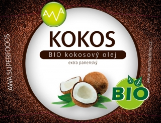 Bio kokosový olej 1000ml AWA superfoods